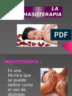 la masoterapia