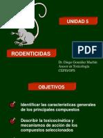 Rodenticidas. Diego González Machín.