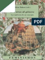 Silvia Tubert (ed.) - Del sexo al género. Los equivocos de un concepto.pdf