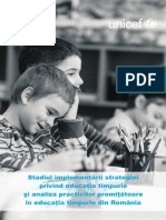 Unicef Stadiul Implementarii Strategiei...Edu Timpurie Pt Site 20.07.2015