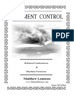 Rudiment Control