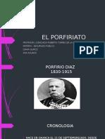 El Porfiriato 1 e
