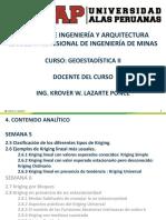 GEOESTADÍSTICA II Semana 5.pdf