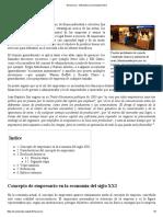 Empresario - Wikipedia, La Enciclopedia Libre