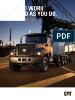 CAT CT681 Vocational Truck Brochure