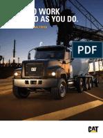 CAT CT681 Vocational Truck Brochure