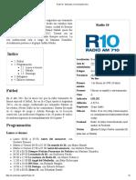 Radio 10 - Wikipedia, La Enciclopedia Libre