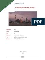 Crecimiento Industrial Chino