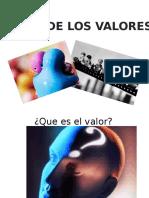 Teoria de Los Valores