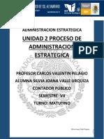 PROCESO DE ADMINSTRACION ESTRATEGICA CON CASOS PRACTICOS