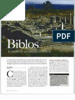 Historia y Vida - Biblos, El Origen de La Civilización Fenicia, Ago 2004