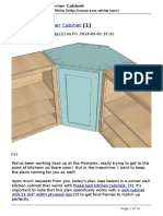 planos para gabinete esquinero de madera