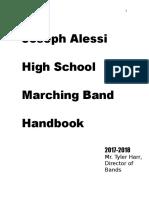 hypothetical marching band handbook