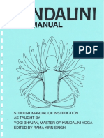 Kundalini Medititaion Manual - For Intermediate Students