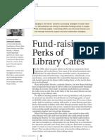 Fund-raising Perks of Cafes