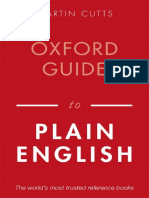 Oxford Guide Plain English - Martin Cutts
