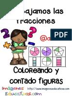 Fichas Ejercicios de Fracciones Con Figuras
