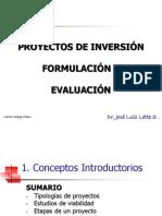 formulacion y evaluacion de proyecctos