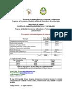 Anex123o 5 Preupuesto Movilidad Alafec 2016 1