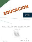 proyecto de educacion
