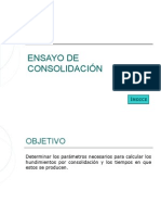 ENSAYO DE CONSOLIDACIÓN