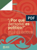 Mujeres,Por Qué Lo Personal Es Político