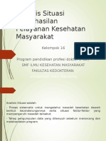 Analisis Situasi Keberhasilan Pelayanan Kesehatan Masyarakat