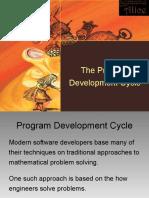 Program Development Cycle PARTIAL