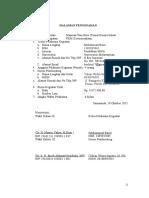 Halaman Pengesahan PKM