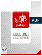 PALAPA Product Submision Guidelines