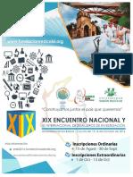 Convocatoria Encuentro Nacional 2016
