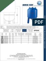 Aquasystem Pressure Tank