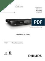 Manual dvd philips dvp3680kx