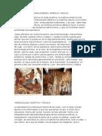 Cultura Primitva Farmacoterapia Empirica y Magica