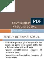 RONDE IV. Bentuk-Bentuk Interaksi Sosial
