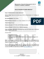 Resumen Del Programa SSGB QRO. Sept 2015