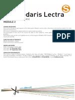 Modaris CAD 2 Lectra - Specialist Weekly Course