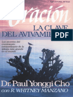 (2) David (Paul) Y Cho La Oracion Clave del Avivamiento x eltropical.pdf