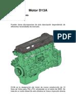 Motor D13A quintos