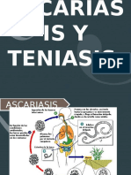 Ascariasis y Teniasis