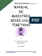 Maestria Reiki Usui-tibetano