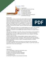 recetario deliciosas panes PANADERIA 100