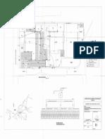 Plano 1levantamiento Arquitectonico y Diagrama Unifilar de Transformador de 50 KVA