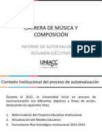 Informe Ejecutivo Música y Composición (preliminar)