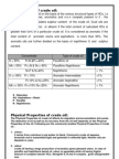Classification of Crude Oil