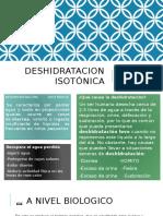 Deshidratacion Isotónica Tipo III