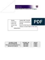 Cover Summary Report Far350