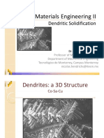 2.1 Dendritic Solidification