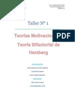 Teoria Bifactorial de Herzberg