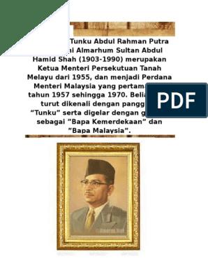 Buku Skrap Tunku Abd Rahman